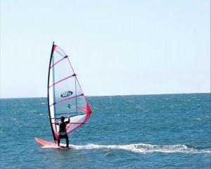 arriendo windsurf por día en el lago rapel