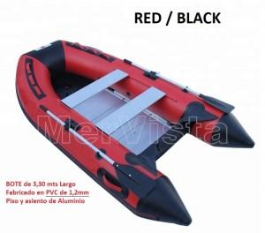 bote inflable nuevo de 3,3mts fabricado en pvc de 1,2mm