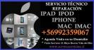 reparación servicio técnico apple ipad iphone mac imac ipod
